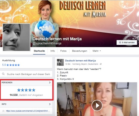 Deutsch lernen mit Marija