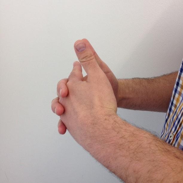 Bedeutung hand streicheln Die Körpersprache