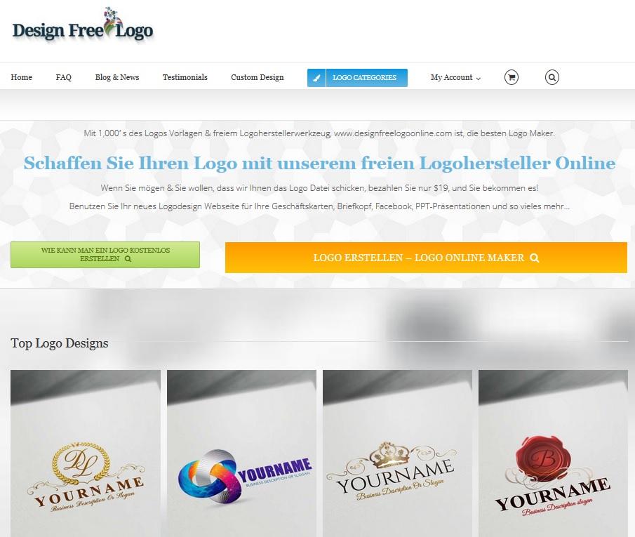 kostenloses 3D Logo online erstellen
