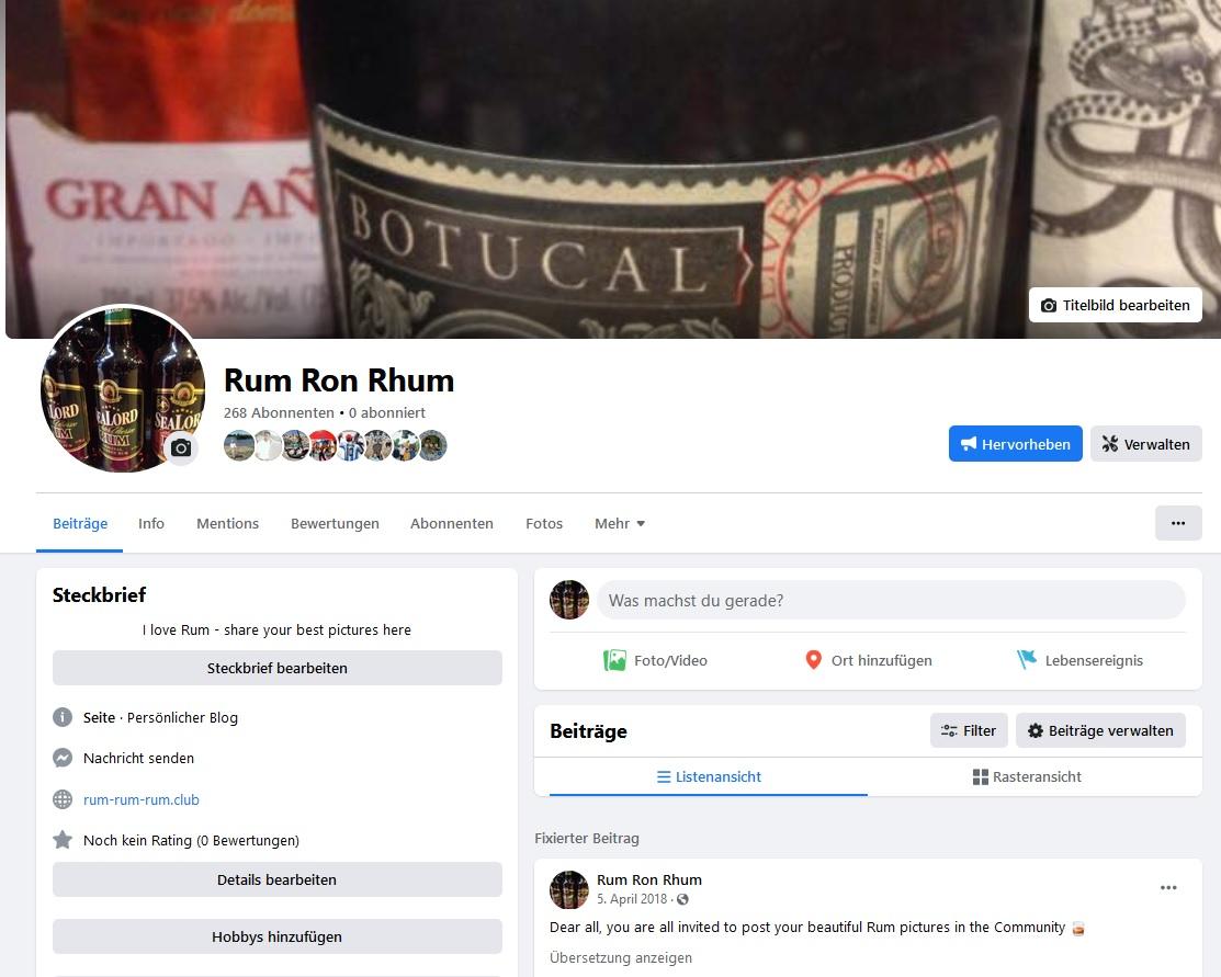 Facebook Rum Seite und Aufbau der Community zur Conversion Rate Verbesserung